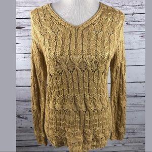 Oscar de la Renta Knit Sweater